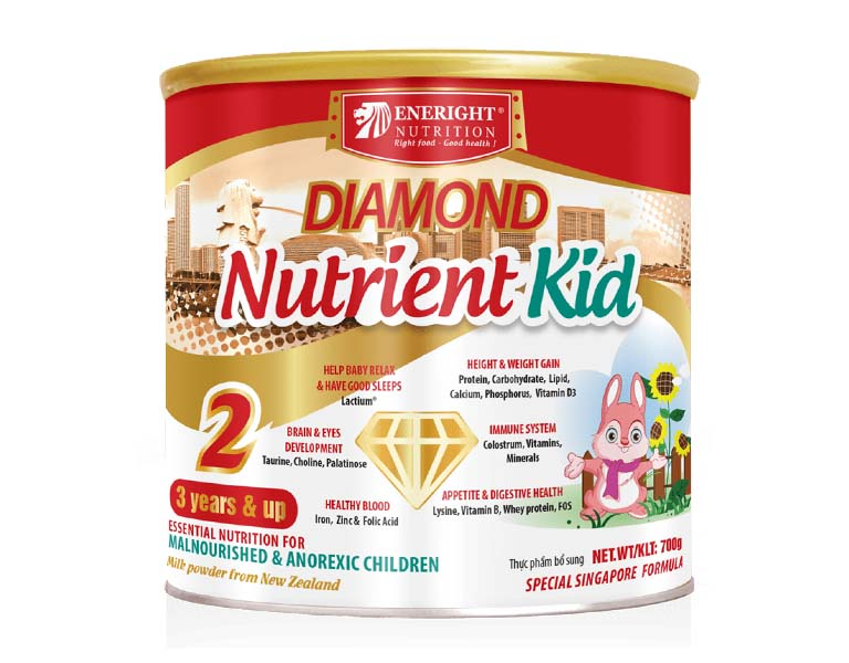 Sữa Diamond Nutrient Kid