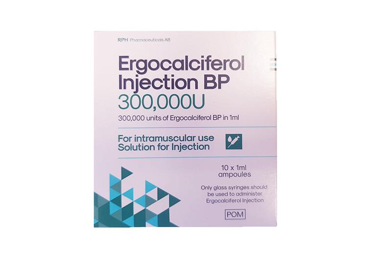 Thuốc Ergocalciferol