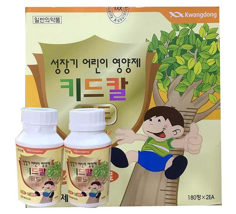 Viên uống tăng chiều cao của Hàn Quốc Kwangdong